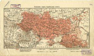 Оглядова карта українських земель (1915)