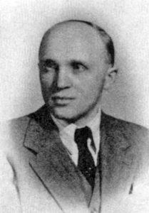 Один из руководителей ОУН(б) и ОУН-УПА Мыкола Лебидь