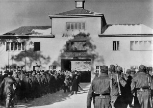 Главный вход на территорию концентрационного лагеря Заксенхаузен