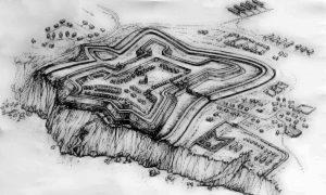 Реконструкция крепости Кодак