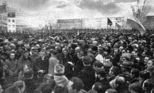 Провозглашение Акта воссоединения УНР и ЗУНР 22 января 1919 года (Киев)