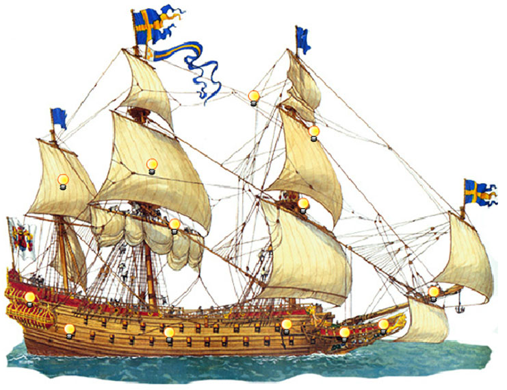 Шведский королевский флагман «Ваза»