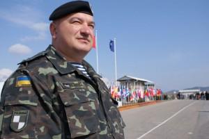 Подполковник Польско-украинского миротворческого батальона в Косово