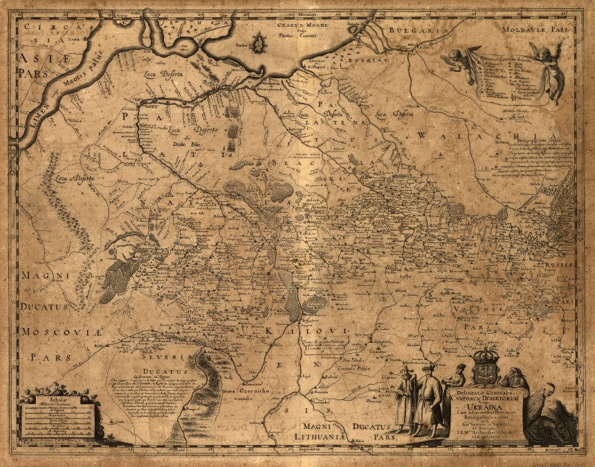 Beauplan_Ukraine_XVII_map