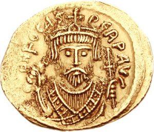 Солид императора Фоки (602–610)