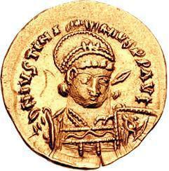Солид Юстиниана І (527 – 565)