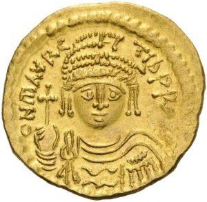 Солид Маврикия (582 – 602)