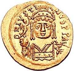 Солид Юстина ІІ (565 – 578)