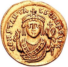 Солид Тиберия ІІ (578 – 582)