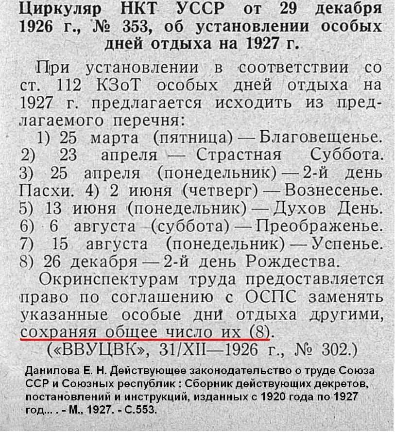 Мал.13 Дні відопчинку у 1927 р.
