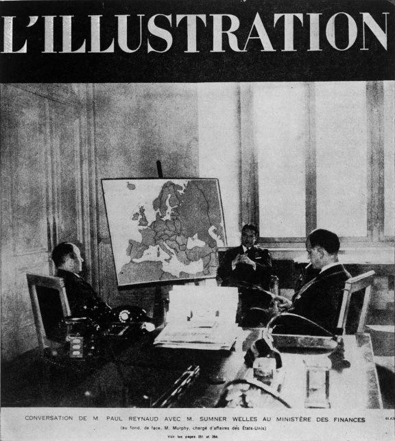 """Обкладинка журналу """"L'Illustration"""", яка """"зрадила"""" французькі плани розчленування Німеччини"""
