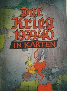 """Обкладинка німецького видання """"Війна 1939/40 у картах"""""""