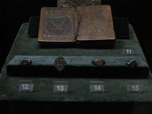 Перстені галицьких бояр XIV ст. (Колекція Національного музею у Кракові)