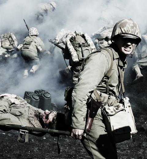 Кадр з фільму К. Іствуда 'Прапори наших батьків'