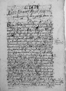Титульна сторінка «Коломацьких статей», 1687 р.