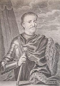 Мартін Бернігерот. Портрет гетьмана Івана Мазепи, 1706 р.