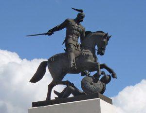 Svyatoslav-I-monument-Kholki-Russia