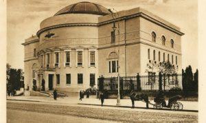 Педагогический музей в Киеве, который Украинская Центральная Рада использовала для заседаний