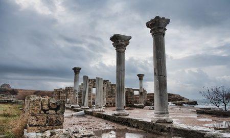 Руины античного Херсонеса